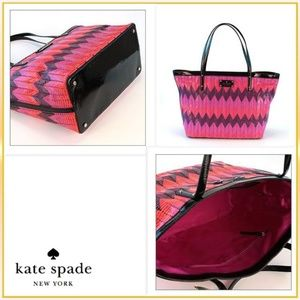 kate spade Bags - 🌿Kate Spade Multicolored Basket Tote Bag🌿